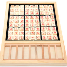 Load image into Gallery viewer, Wooden Sudoku Chess Digits 1 to 9 Desktop Games Adult Kids Puzzle Education Toys