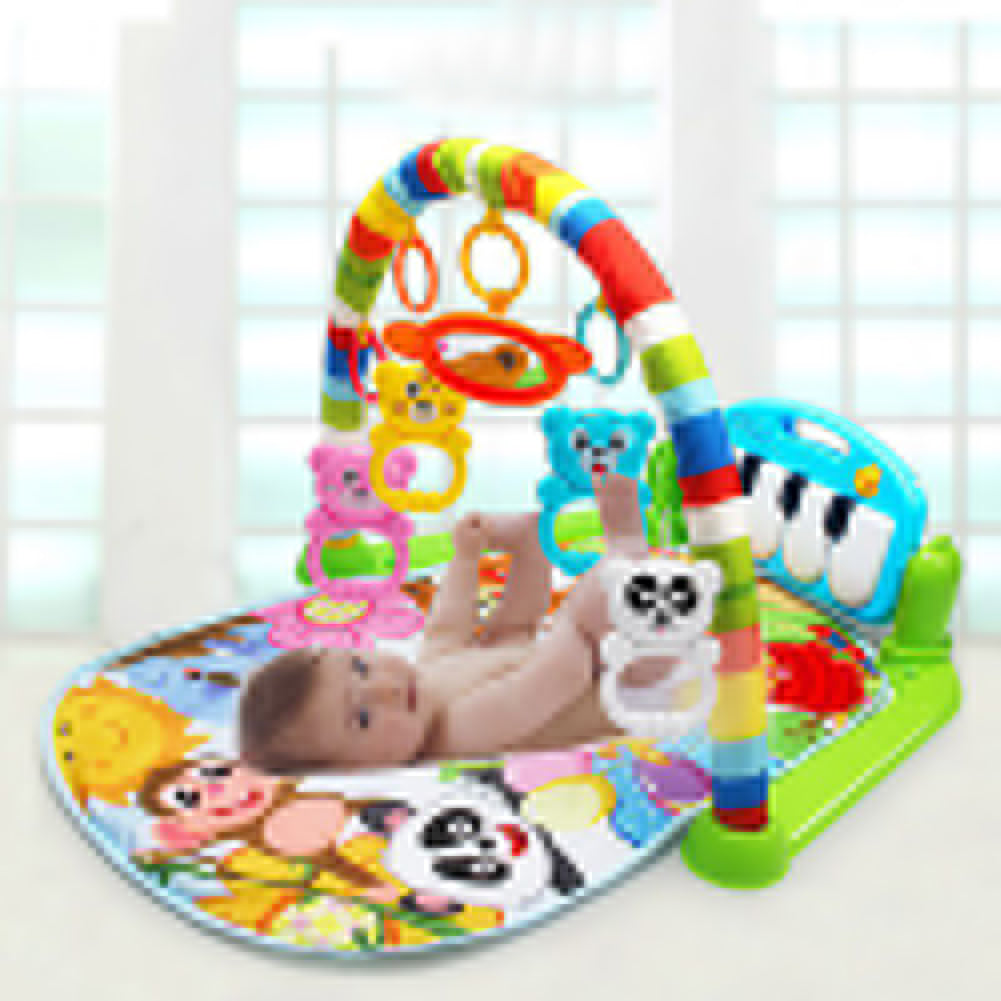Infant Baby Pedal Piano Play Mat Activity Gym Blanket Fitness Bodybuilding Frame