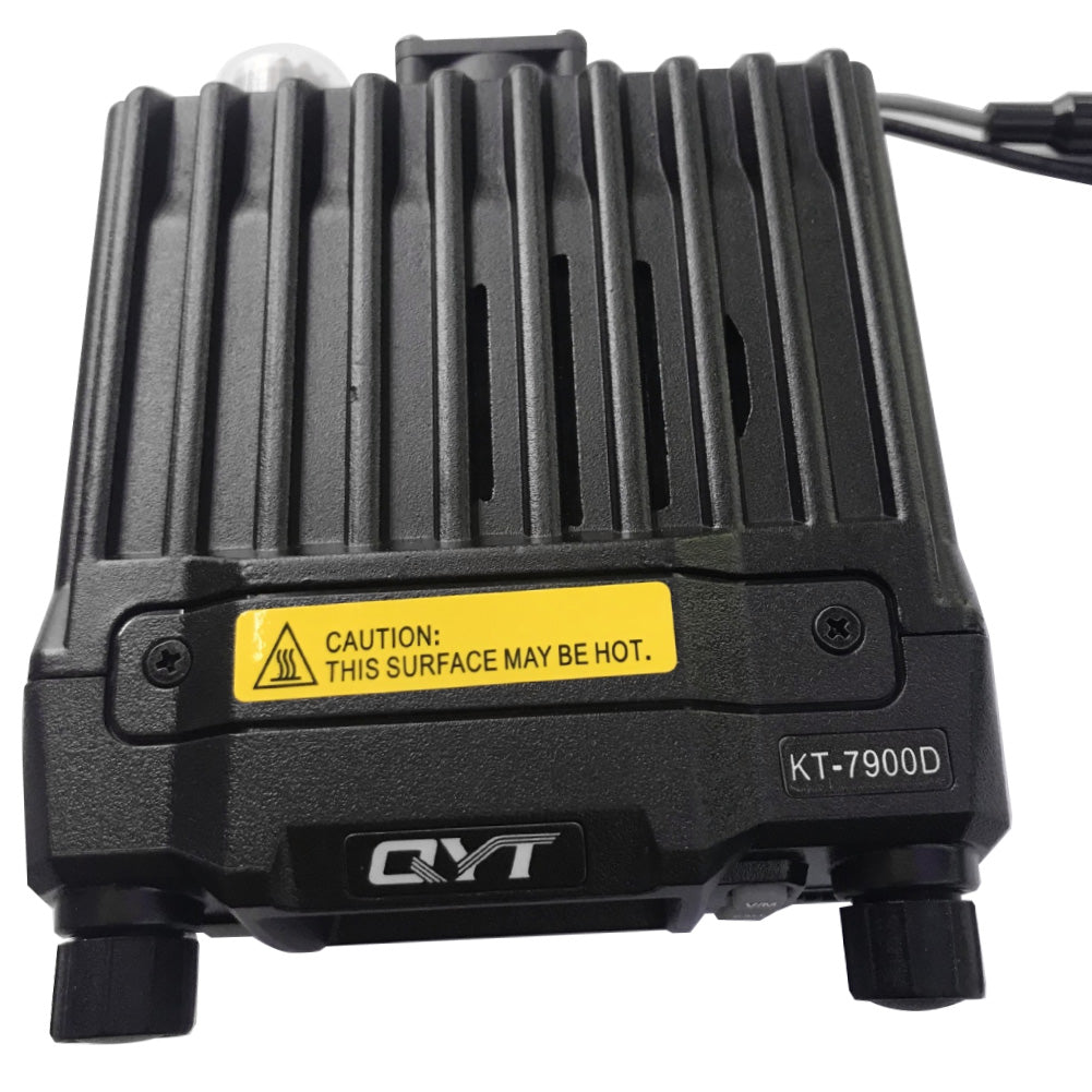 QYT KT-7900D Mini Quad Band Car Mobile Radio Transceiver with Programming Cable