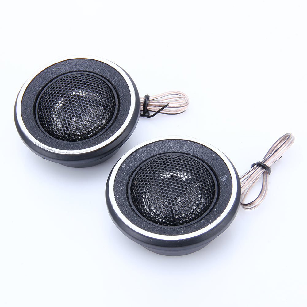 YH-95 1 Pair 35W Stylish Auto Car Vehicle Dome Speaker Audio Tweeter Loudspeaker