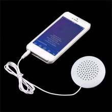 Load image into Gallery viewer, Mini Portable 3.5mm Pillow Speaker for MP3 MP4 Player High Quality Stereo Gift