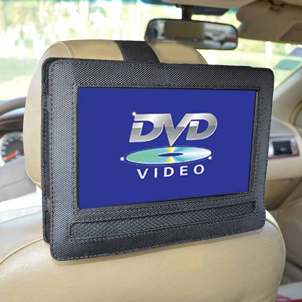 Car Headrest Mount for 9 Inch Swivel Flip Style Portable DVD Player Holder
