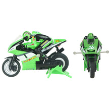 Load image into Gallery viewer, Mini RC Motorcycle High Speed Radio Controlled 2.4GHz Motorbike Children Toy