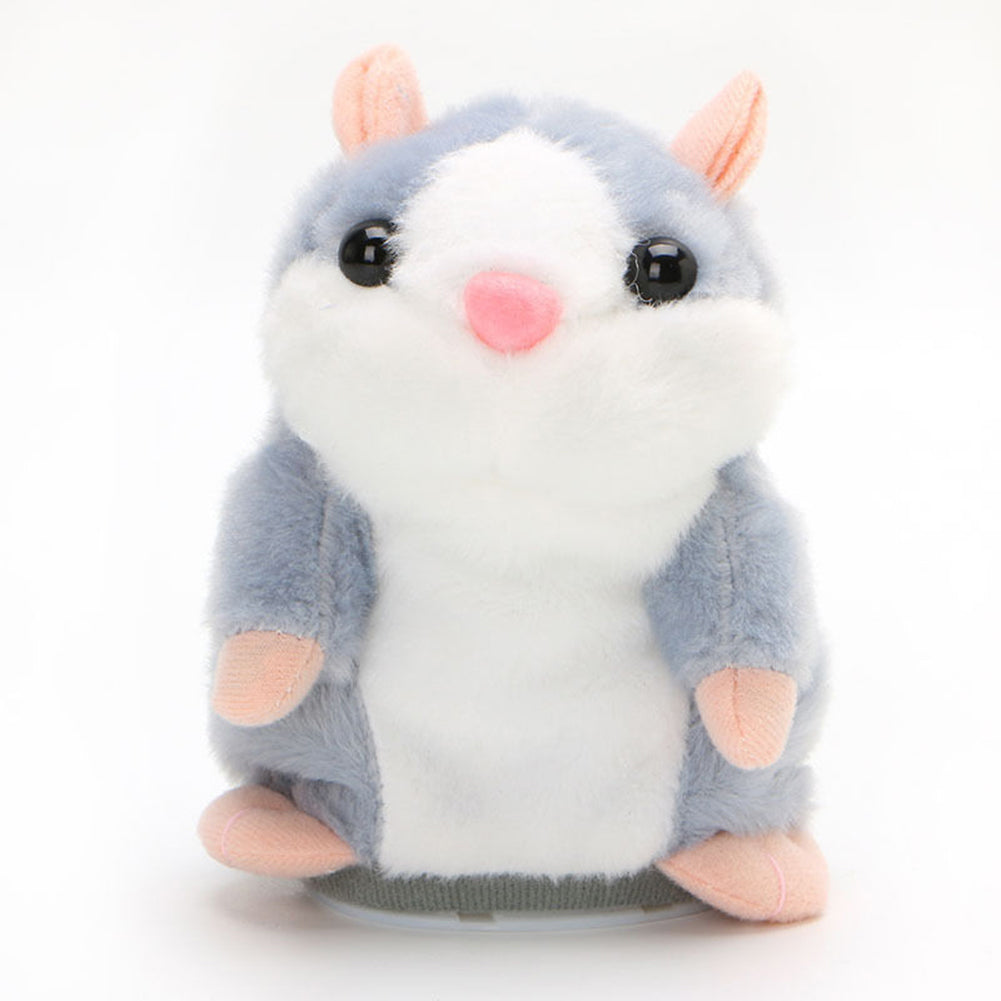 Cute Talking Nod Hamster Mouse Record Chat Pet Plush Toy Gift for Kids