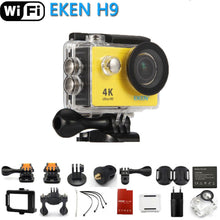 Load image into Gallery viewer, Original EKEN Action Camera eken H9 Ultra HD 4K WiFi Remote Control Sports Video Camcorder DVR DV go Waterproof pro Camera