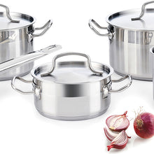 Load image into Gallery viewer, Cookware Quid Azzero Stainless steel (5 pcs)