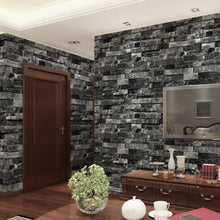 Load image into Gallery viewer, 3D Solid Creative Brick Effect Wall Sticker Decal Kitchen Bathroom Decoration