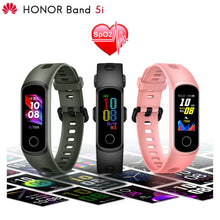 Load image into Gallery viewer, New product Original Huawei Honor Band 5i Smart Wristband AMOLED Huawe Honor Smart Watch Sleep Swimming Sport Tracker SpO2 Blood Oxygen