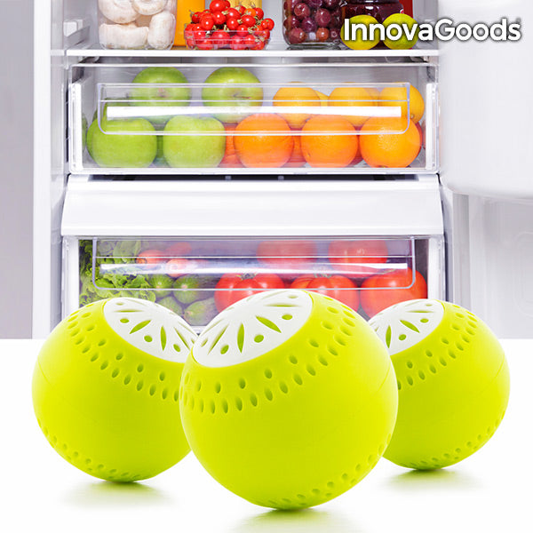 InnovaGoods Fridge Eco Balls (pack of 3)