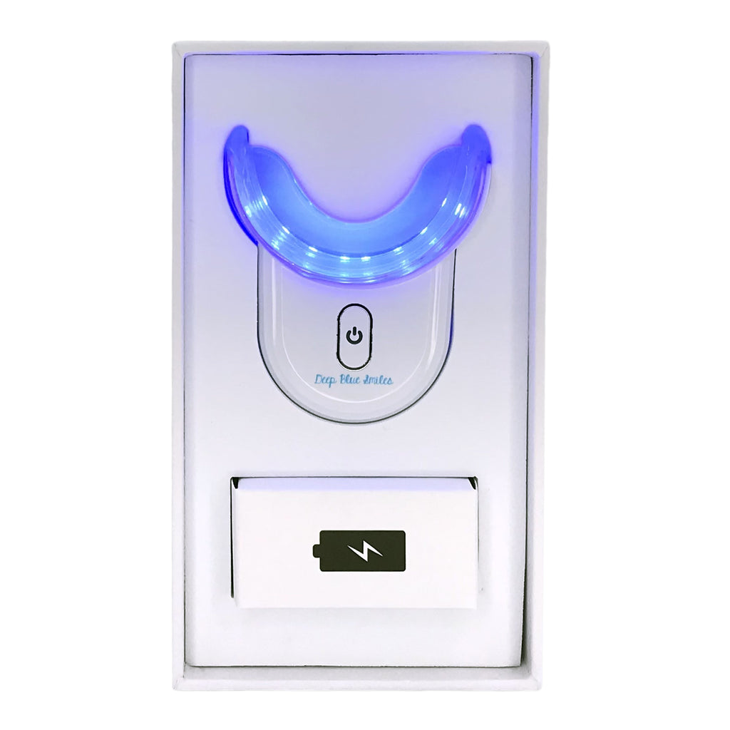 Teeth whitening light only