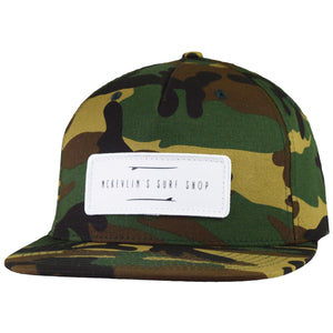 McKevlin's - Two Boards Hat - Camo - MCKEVLIN'S SURF SHOP
