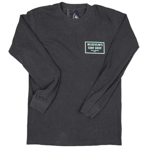 McKevlin's - 65 Dye Men's L/S T - Pepper - MCKEVLIN'S SURF SHOP