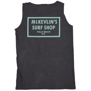 McKevlin's - 65 Dye Men's Tank - Pepper - MCKEVLIN'S SURF SHOP
