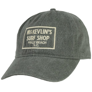 McKevlin's - 65 Dye Unstructured Hat - Moss Green