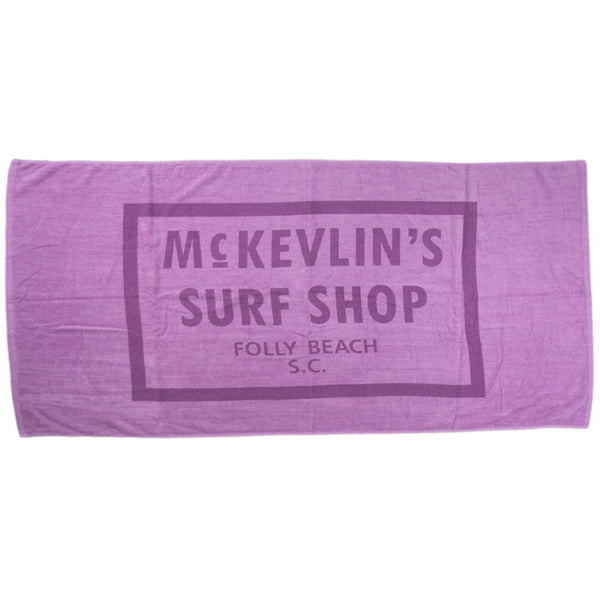 McKevlin's - Sixty-Five Beach Towel - Lavender
