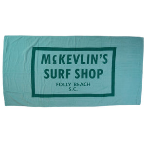 McKevlin's - 65 Beach Towel - Mint Green - MCKEVLIN'S SURF SHOP