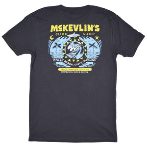 McKevlin's - Birdie Men's S/S  T - Heavy Metal Grey