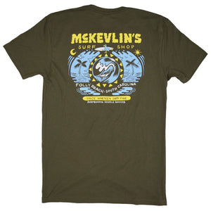 McKevlin's - Birdie Men's S/S  T - Military Green
