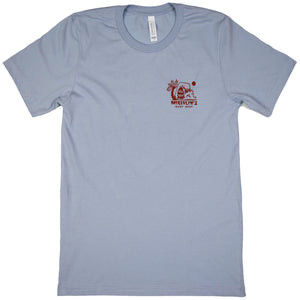McKevlin's - Crunch Wave Men's S/S  T - Light Blue