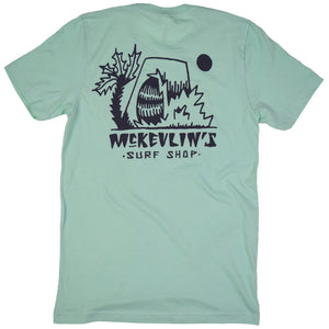 McKevlin's - Crunch Wave Men's S/S  T - Mint