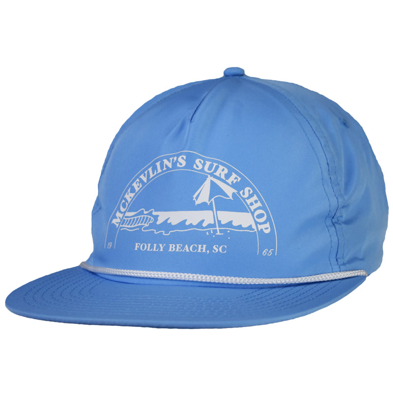 McKevlin's - Caddyhat - Carolina Blue/White
