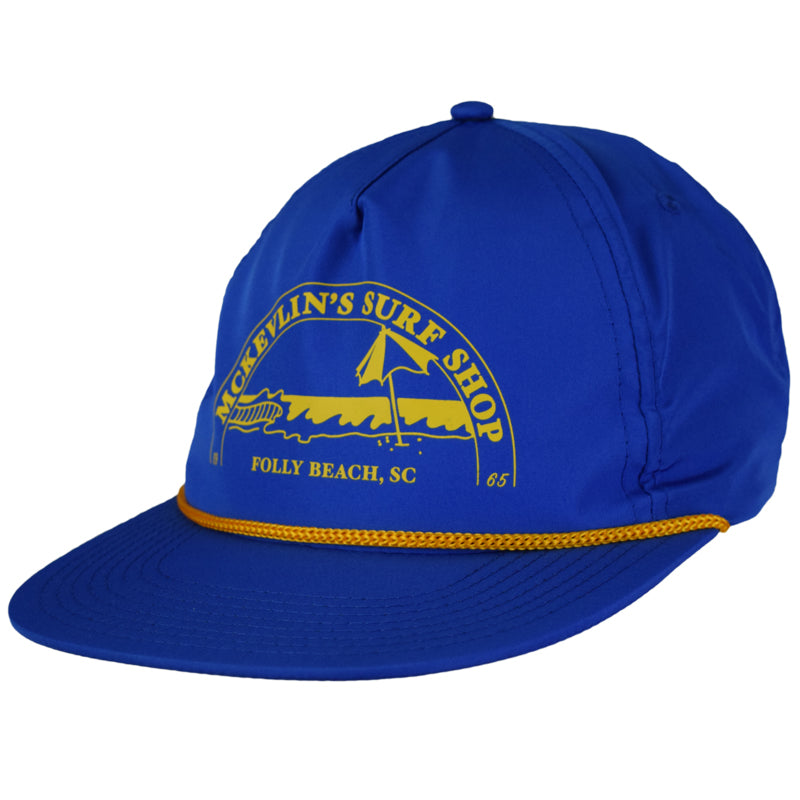 McKevlin's - Caddyhat - Royal/Gold - MCKEVLIN'S SURF SHOP