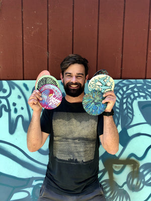 Waboba - Wingman Artist Series Flying Disc - Keep Life Fun - MCKEVLIN'S SURF SHOP