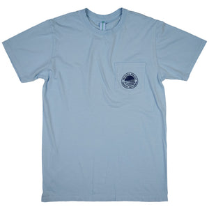 The Beach Project - Circulo Men's SS Pkt T - Chambray