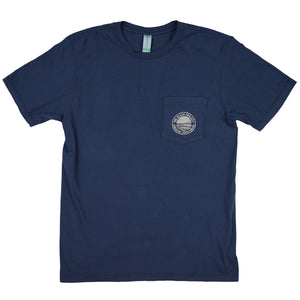 The Beach Project - Circulo Men's SS Pkt T - Navy