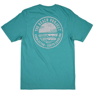 The Beach Project - Circulo Men's SS Pkt T - Seafoam