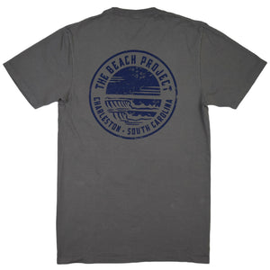 The Beach Project - Circulo Men's SS Pkt T - Graphite - MCKEVLIN'S SURF SHOP