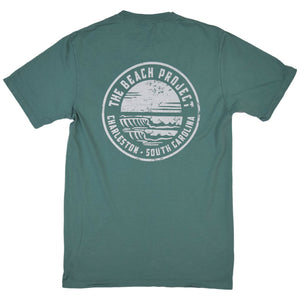 The Beach Project - Circulo Men's SS Pkt T - Pine - MCKEVLIN'S SURF SHOP
