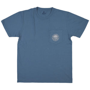 The Beach Project - Circulo Men's SS Pkt T - Slate - MCKEVLIN'S SURF SHOP