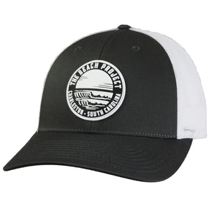 The Beach Project - Dos Olas Trucker Hat - Charcoal/White - MCKEVLIN'S SURF SHOP