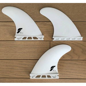 Futures - F6 Thermo 3 Fin Set - White - MCKEVLIN'S SURF SHOP