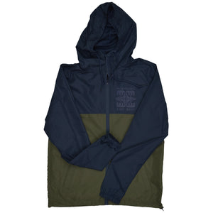 McKevlin's - Four Way Unisex Windbreaker - Navy/Army