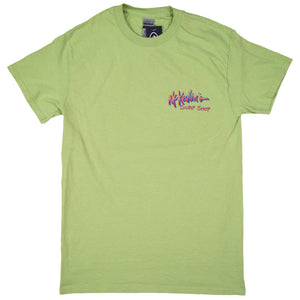 McKevlin's - Gone Surfin' Men's S/S T - Pistachio