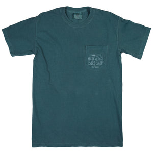 McKevlin's - Kemp Wave Men's S/S  T - Emerald - MCKEVLIN'S SURF SHOP