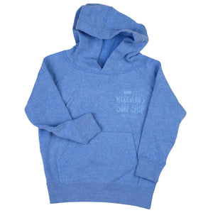 McKevlin's - Toddler Kemp Wave Hooded Fleece - Pacific Blue