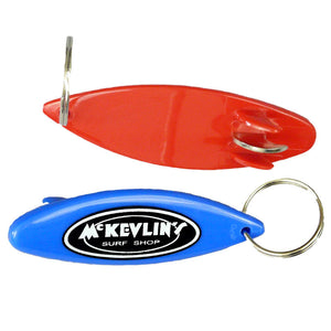 McKevlin's - Keychain-Bottle Opener - 7 Colors - MCKEVLIN'S SURF SHOP