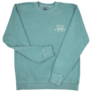 McKevlin's - No Egrets Men's Crew Fleece - Mint
