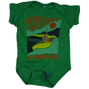 McKevlin's - Infant Open Arms Onesie - Vintage Green