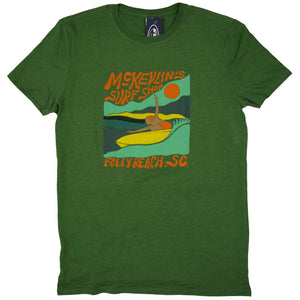 McKevlin's - Open Arms Men's S/S  T - Vintage Grass