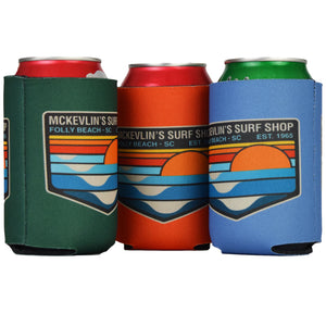 McKevlin's - Park Patch Can Coozie - 6 Colors - MCKEVLIN'S SURF SHOP