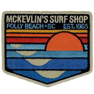 McKevlin's - Park Patch Iron-On Patch - MCKEVLIN'S SURF SHOP