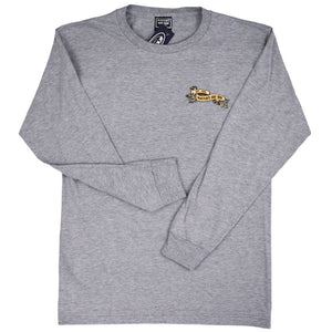 McKevlin's - Surf Fiesta Men's L/S T -  Heather Grey