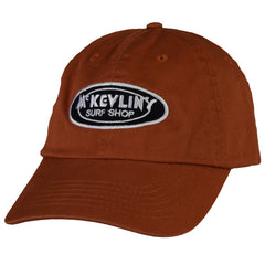 McKevlin's - Classic Oval Unstructured Hat - Burnt Orange