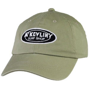 McKevlin's - Classic Oval Unstructured Hat - Sage Green