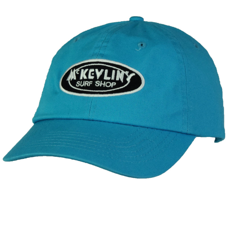 McKevlin's - Classic Oval Unstructured Hat - Turquoise - MCKEVLIN'S SURF SHOP