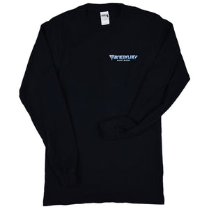 McKevlin's - Wave Warriors Men's L/S T - Black - MCKEVLIN'S SURF SHOP